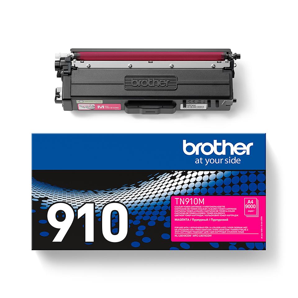 Brother TN-910M Toner originale – Magenta 2