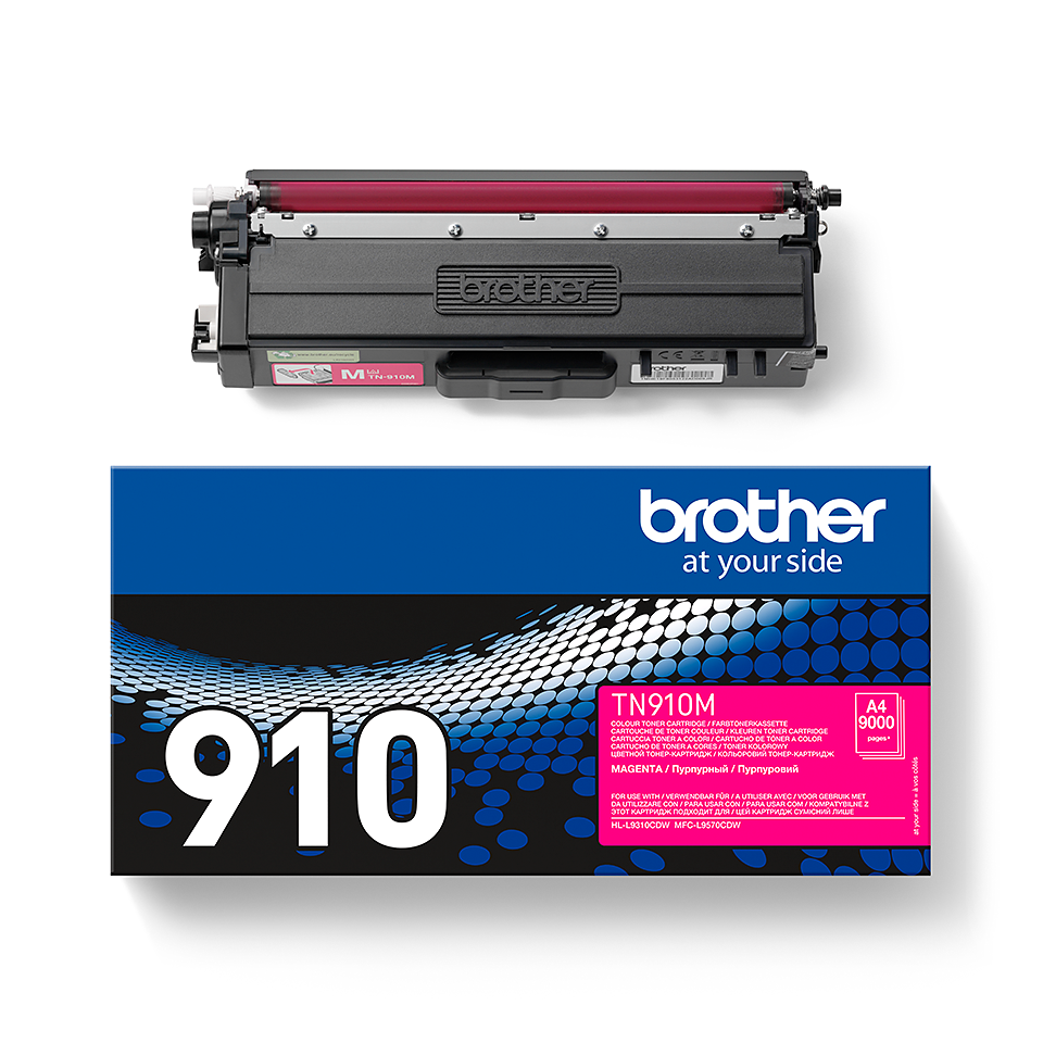 Brother TN-910M Toner originale – Magenta 2