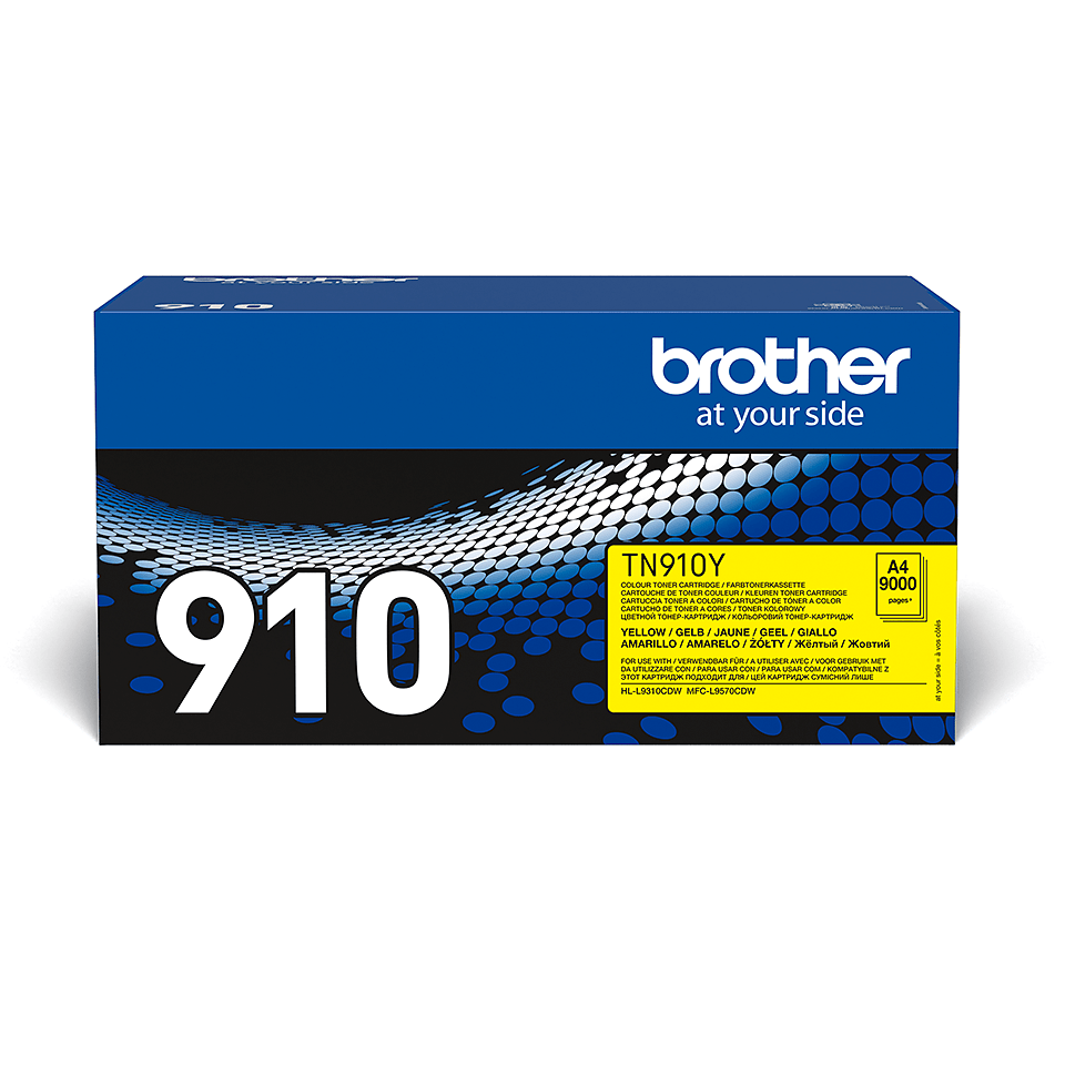 Brother TN-910Y Toner originale – Giallo