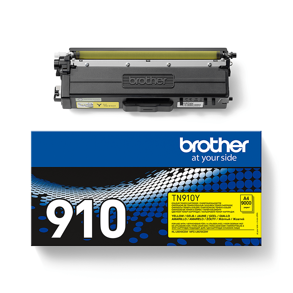 Brother TN-910Y Toner originale – Giallo 2