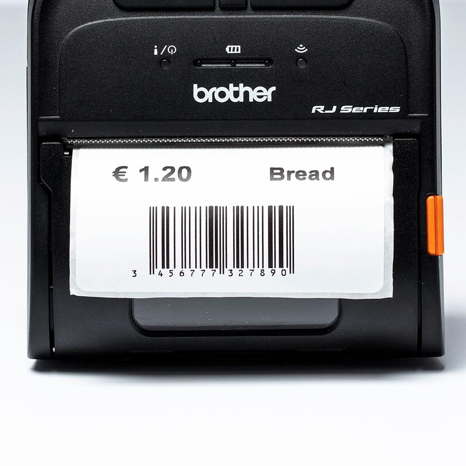 Rotolo di etichette pretagliate a trasferimento termico BDE-1J044076-040 3