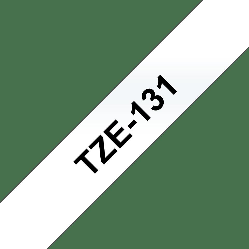 Brother TZe-131 Nastro originale per etichettatrici, 12 mm - nero su trasparente 3