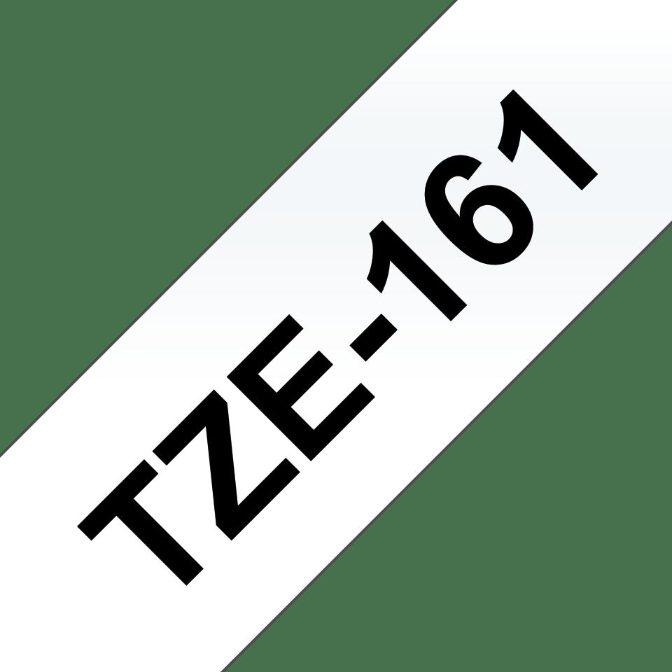 Cassetta nastro per etichettatura originale Brother TZe-161 – Nero su trasparente, 36 mm di larghezza 3