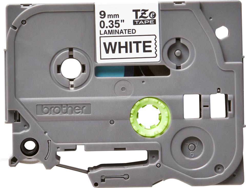 Nastro per etichettatura originale Brother TZe-221 – Nero su bianco, 9 mm di larghezza 0