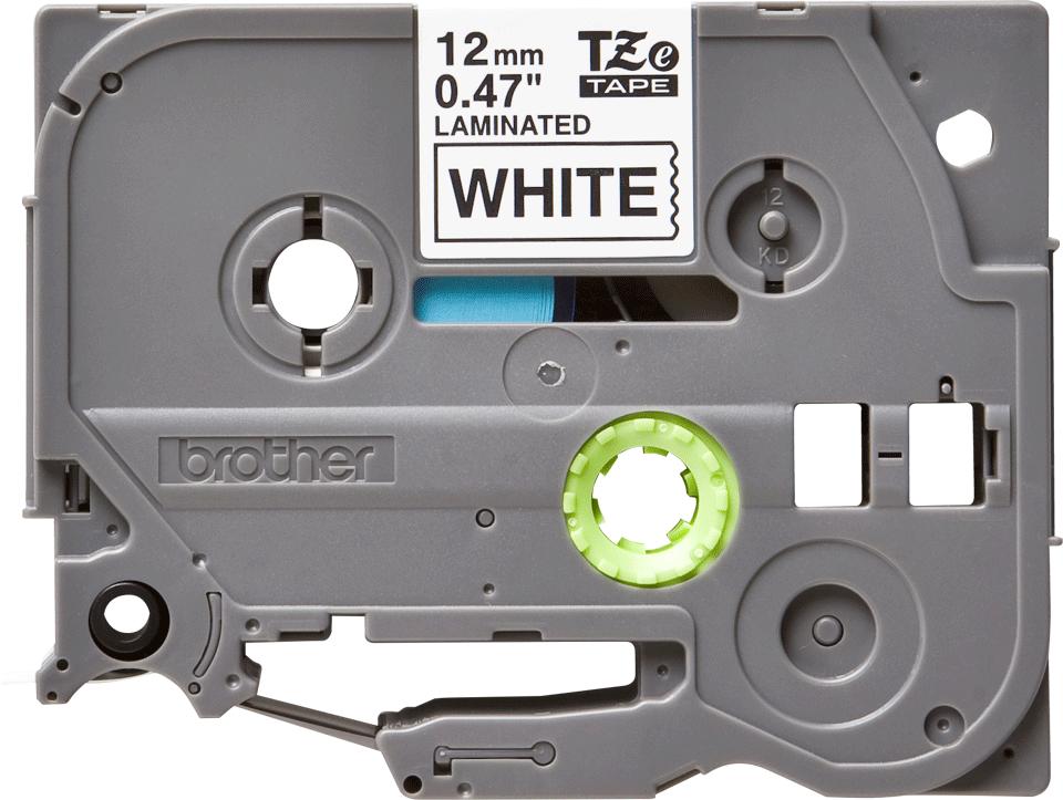 Brother TZe-231 Nastro originale per etichettatrici, 12 mm - nero su bianco
