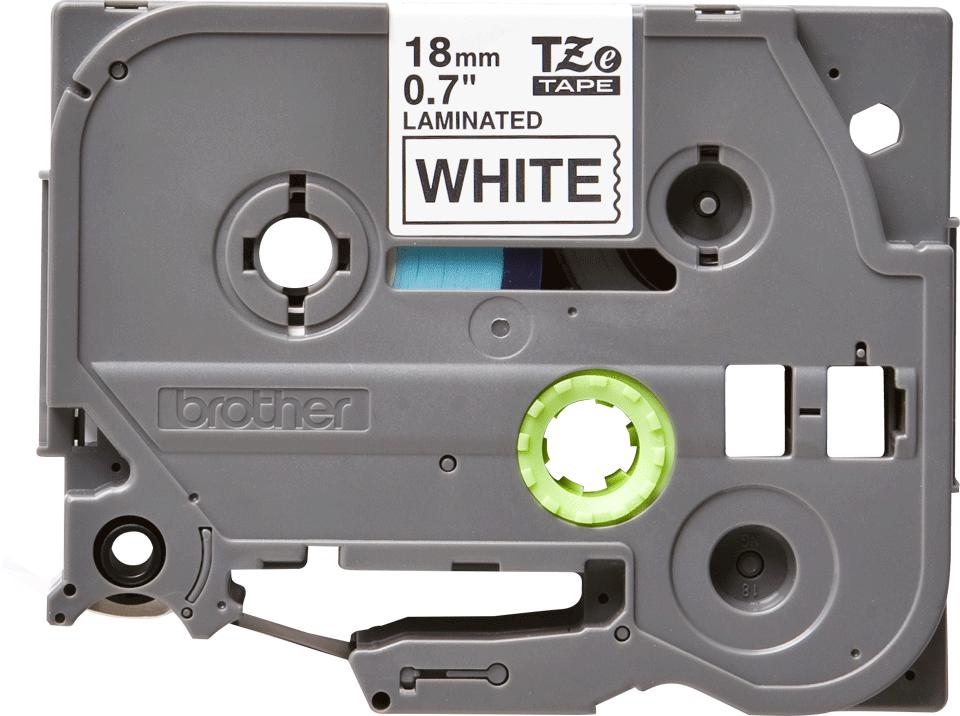 Cassetta nastro per etichettatura originale Brother TZe-241 – Nero su bianco, 18 mm di larghezza