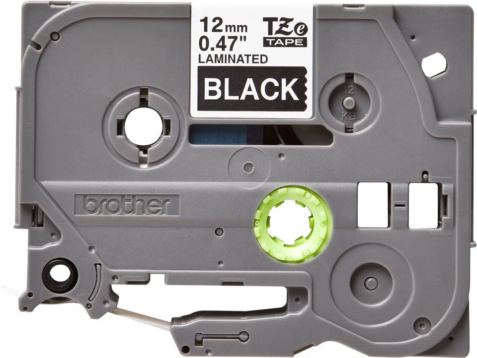 Nastro per etichettatura originale Brother TZe-335 – Bianco su nero, 12 mm di larghezza
