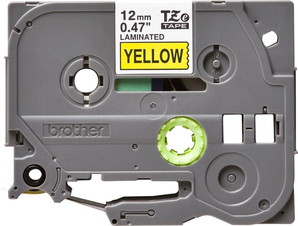 Brother TZe-631 Nastro originale per etichettatrici, 12 mm - nero su giallo 0