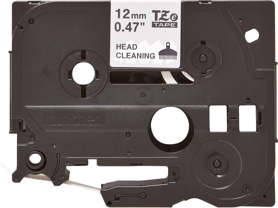 Cassetta nastro di pulizia della testina di stampa Brother TZe-CL3 – 12 mm di larghezza 0