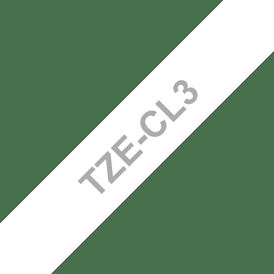 Cassetta nastro di pulizia della testina di stampa Brother TZe-CL3 – 12 mm di larghezza 3