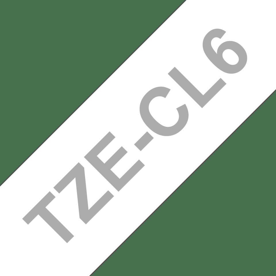 Cassetta nastro di pulizia della testina di stampa Brother TZe-CL6 – 36 mm di larghezza 3