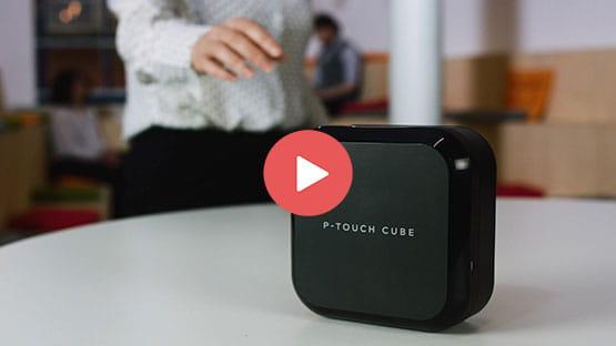 P-touch CUBE Plus Etichettatrice con Bluetooth e compatibilità MFi 4