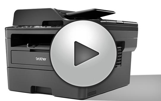 MFC-L2710DW Stampante multifunzione laser monocromatica con WiFi 7