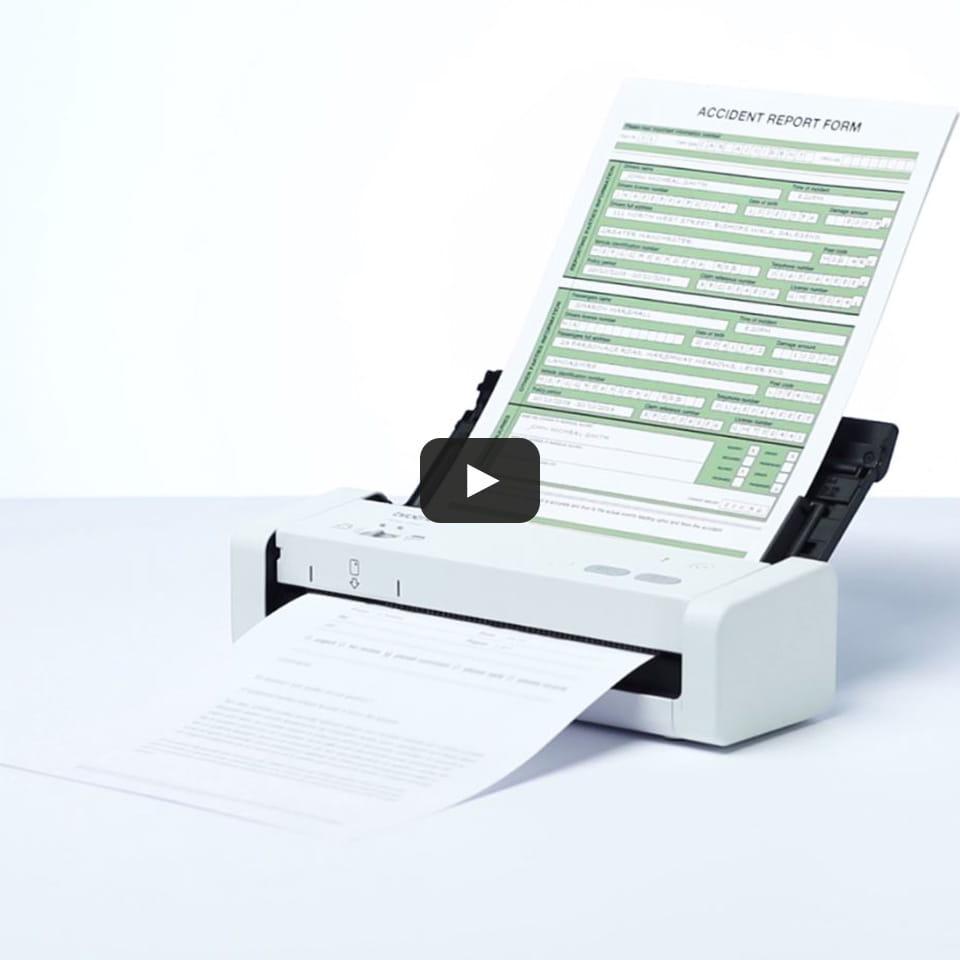 ADS-1200 Scanner per documenti compatto e portatile con duplex 9