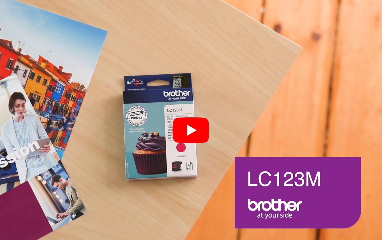 Brother LC-123M Cartuccia inkjet originale - magenta 5