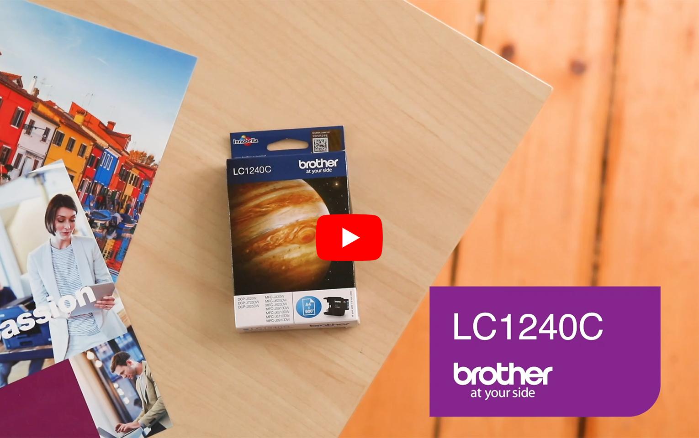 Brother LC1240C Cartuccia inkjet originale - ciano 5