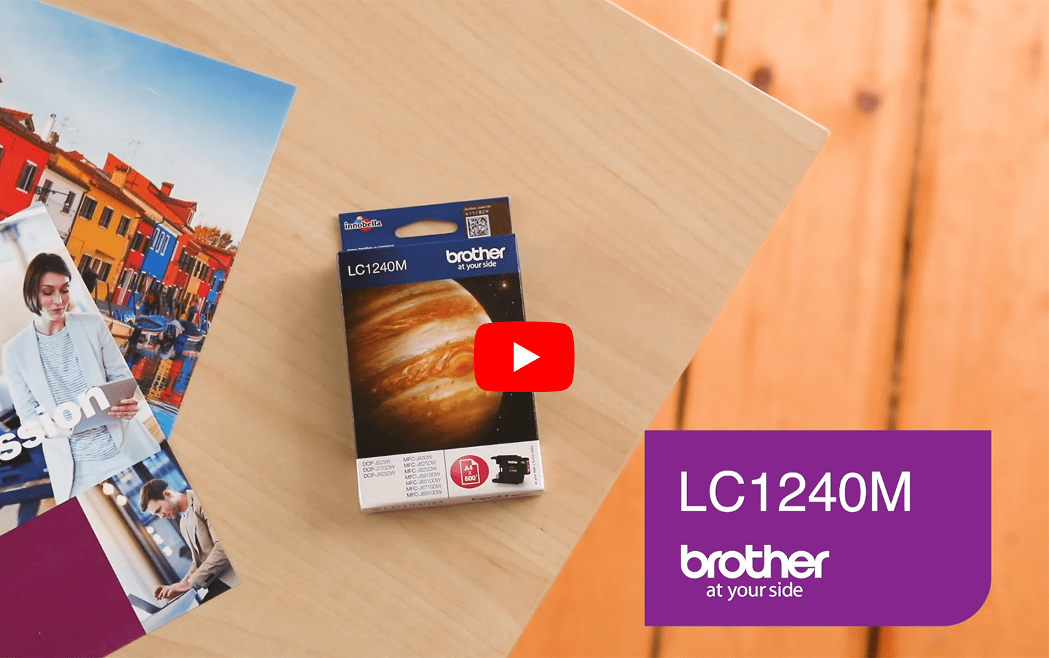 Brother LC1240M Cartuccia inkjet originale – magenta 5