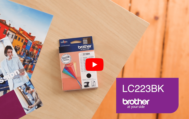 Brother LC223BK cartuccia originale inkjet - nero 5