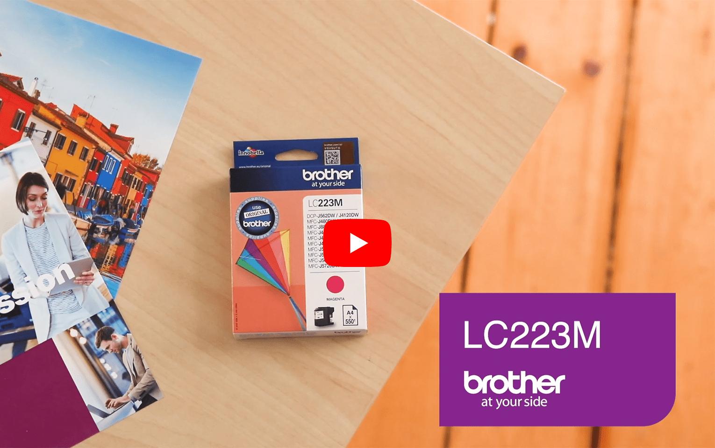 Brother LC223M Cartuccia inkjet originale - magenta 5