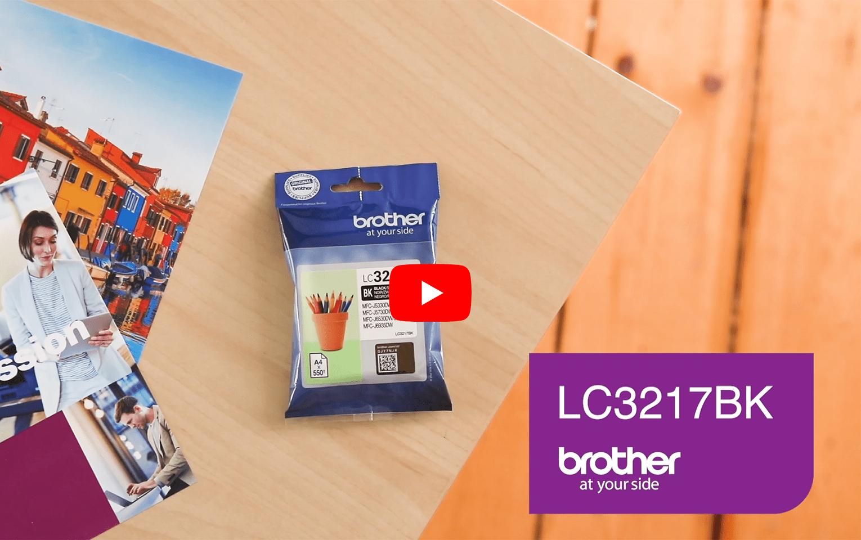 Brother LC3217BK Cartuccia originale inkjet - nero 5