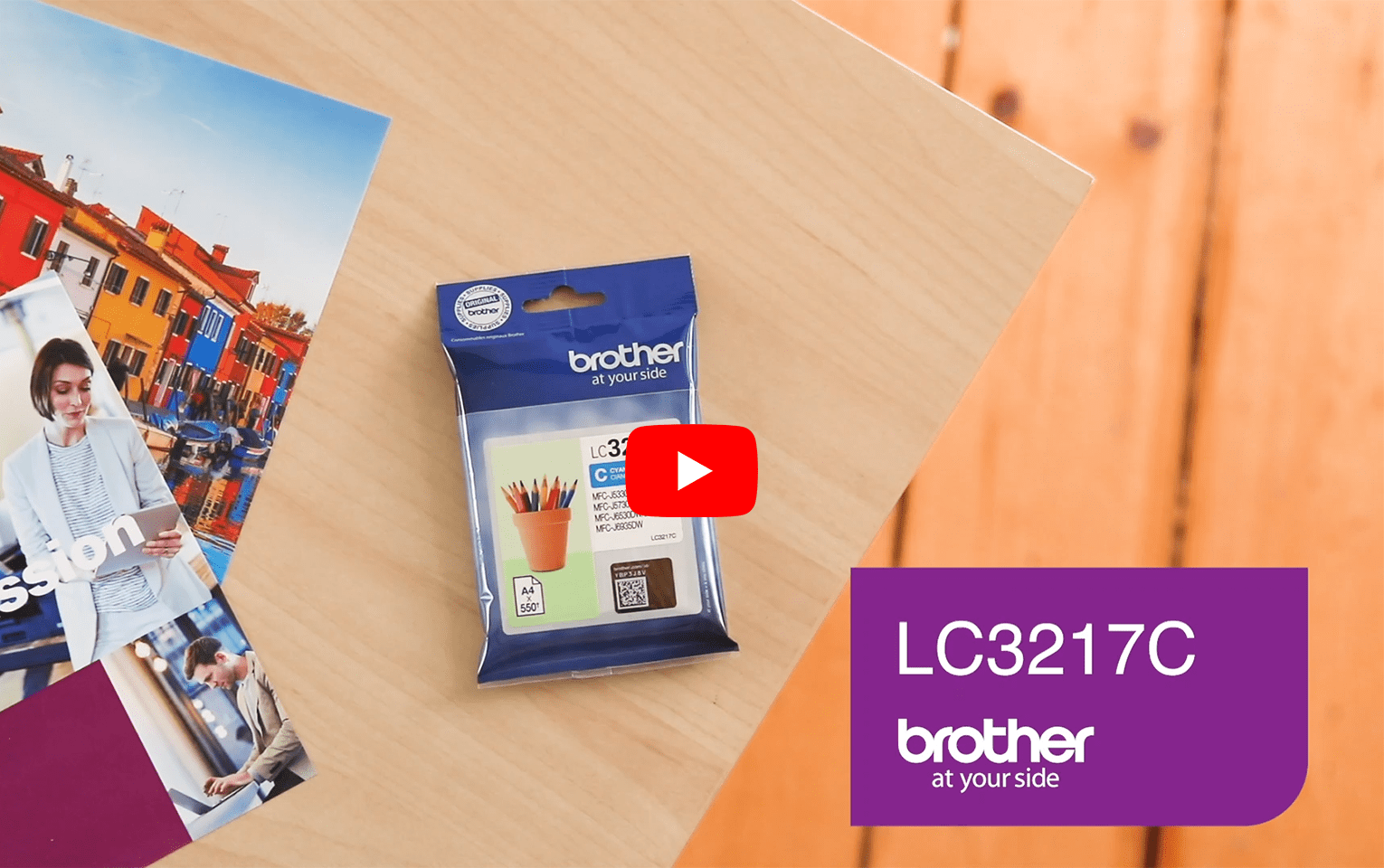 Brother LC3217C Cartuccia originale inkjet - ciano 5
