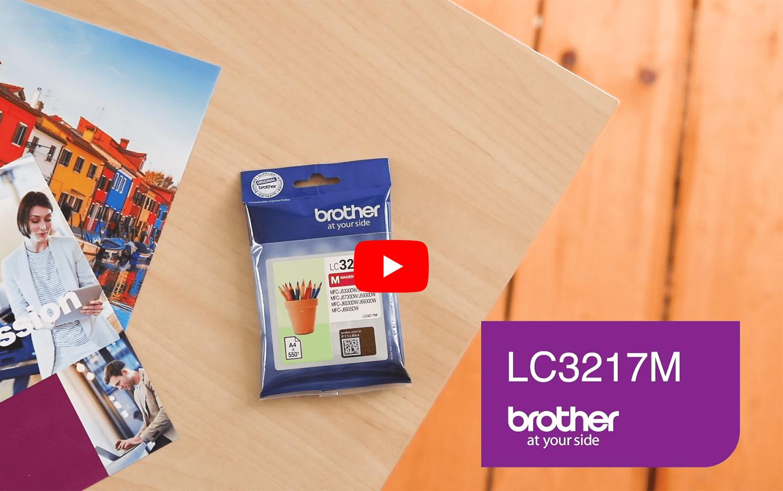 Brother LC3217M Cartuccia originale inkjet - magenta 5