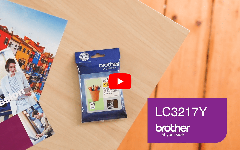 Brother LC3217Y Cartuccia originale inkjet - giallo 5