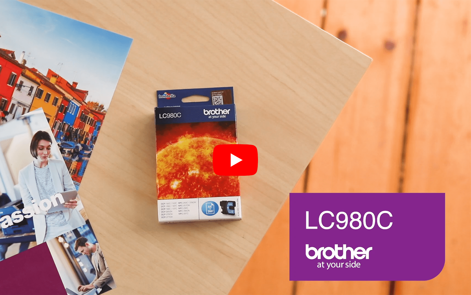 Brother LC980C Cartucca inkjet originale - ciano 5