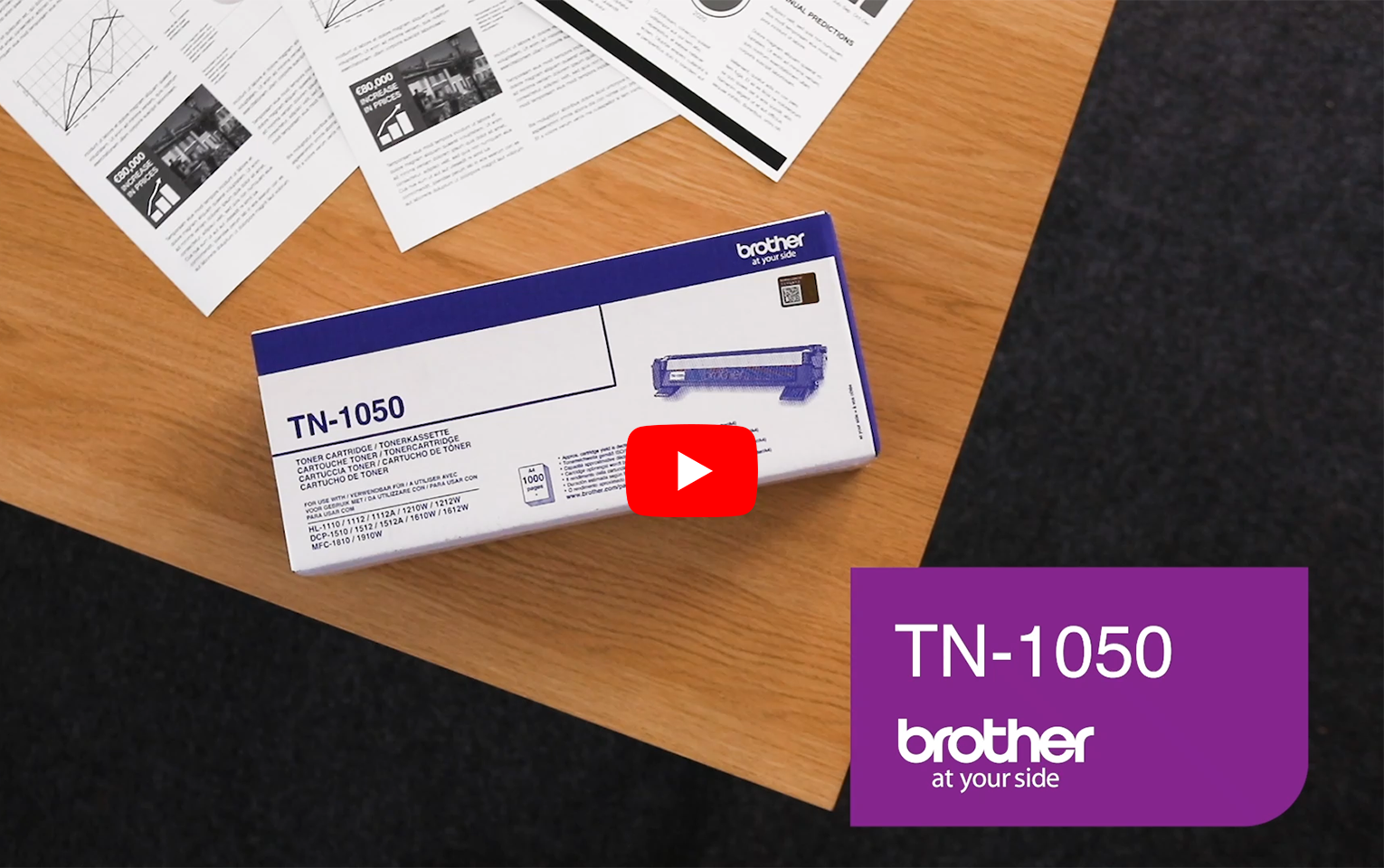 Brother TN-1050 Toner originale - Nero 7