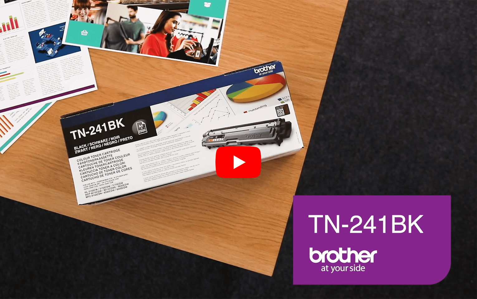 Brother TN-241BK Toner originale - nero 5