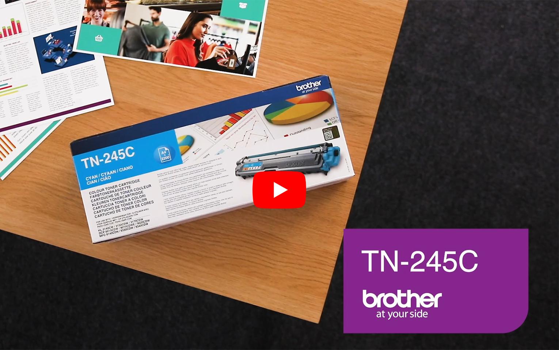Brother TN-245C Toner originale - ciano 3