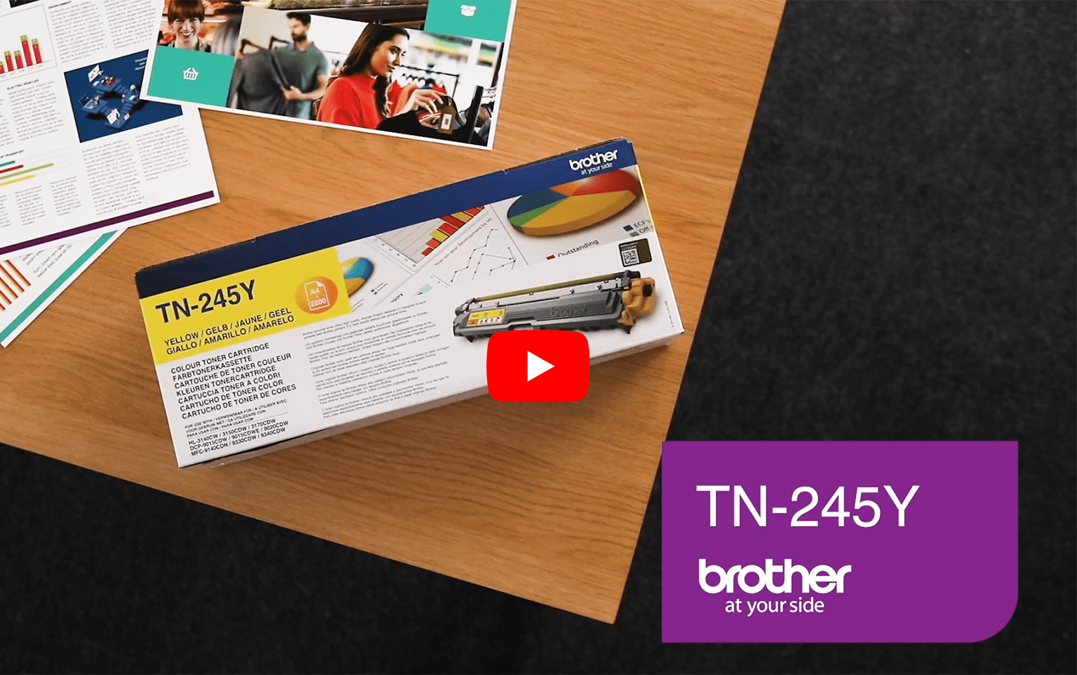 Brother TN-245Y Toner originale - giallo 5