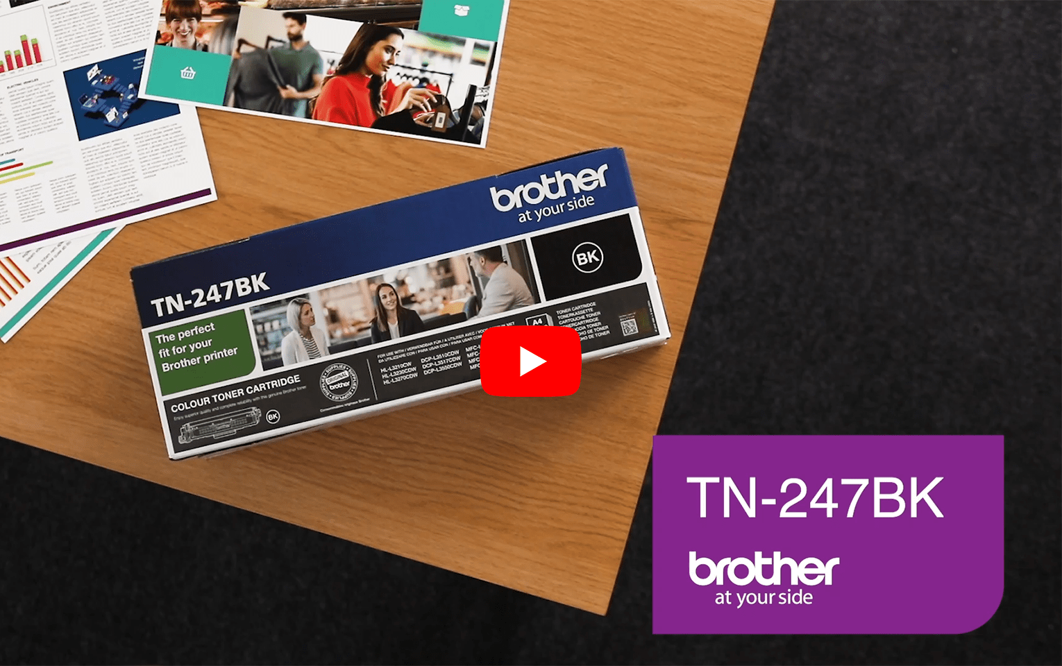 Brother TN-247BK Toner originale ad alta capacità - Nero 5