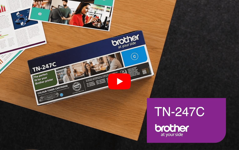 Brother TN-247C Toner originale ad alta capacità - Ciano 5