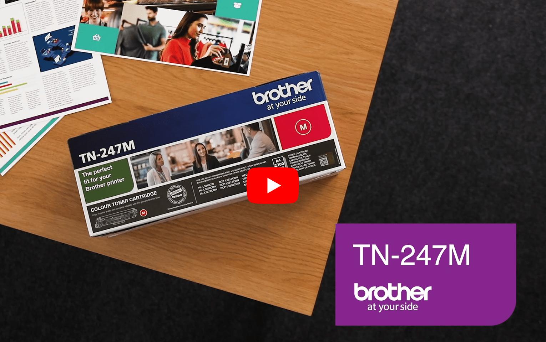 Brother TN-247M Toner originale ad alta capacità - Magenta 5